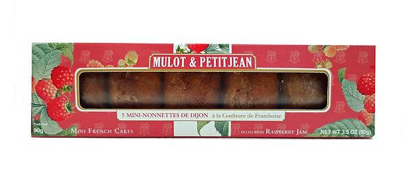 "Mini-Nonnettes filled with Raspberry Jam ""Mulot Petitjean"""