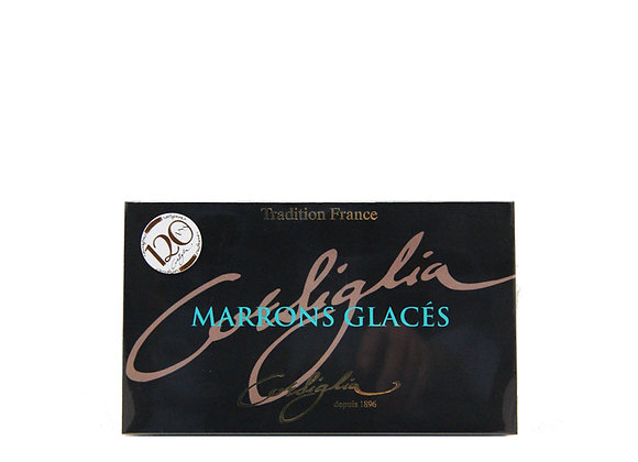 "Box of 8 Marrons Glacés ""CORSIGLLIA FACOR"""