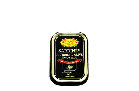 "Vintage Sardines in Olive Oil ""JC David"""