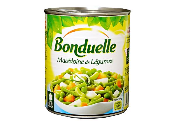"Mixed Vegetables ""BONDUELLE"" 800gr"