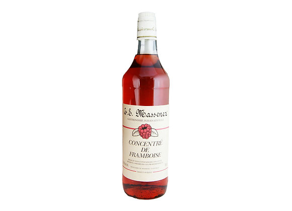 "Raspberry Extract 50% alcohol 1lt bottle ""MASSENEZ"""