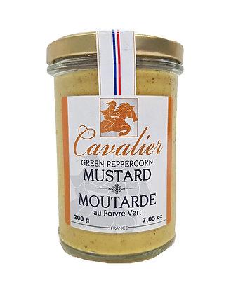 "Green Peppercorn Mustard ""Cavalier"""