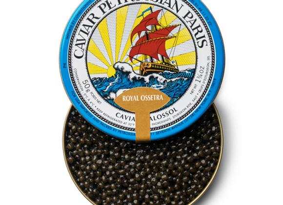 Petrossian Farmed Sturgeon Caviars - Acipenser Gueldenstaedtii - Ossetra