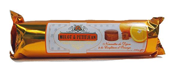 """Nonnettes Pain d'épices filled orange jam """"Mulot Petitjean"""""""