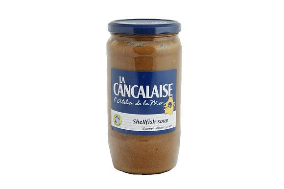 """Shellfish Soup """"La Cancalaise"""""""