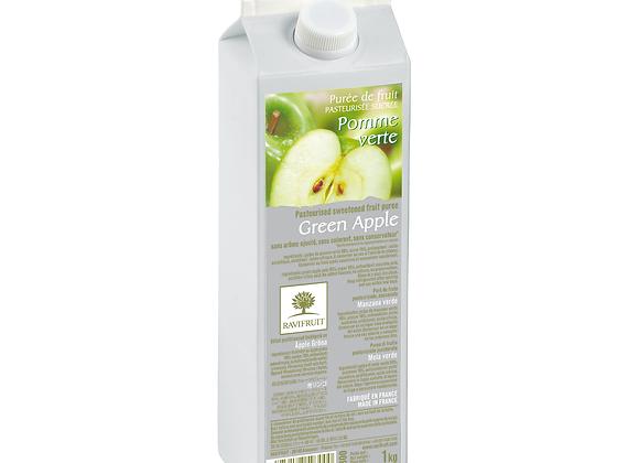 "Green Apples Purée Elopak 1kg ""RAVIFRUIT"""