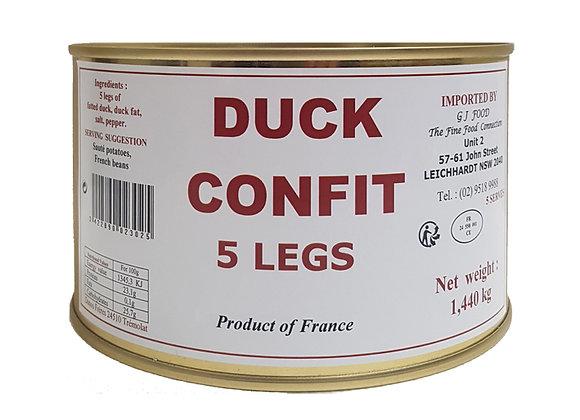 """Duck Confit 5 legs """"Danos"""""""