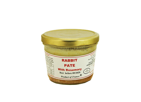"""Rabbit Paté with Rosemary 180g jar """"DANOS"""""""
