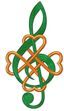 Celtic Music Note
