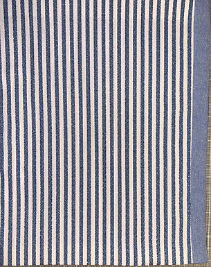 Oxford Blue Pinstripe
