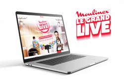 Creation Logo Grand Live Moulinex