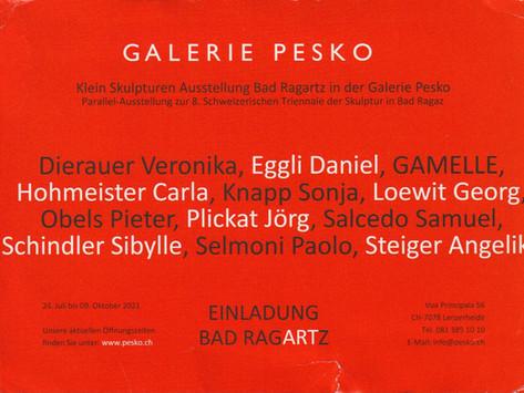 Ausstellung in der Galerie Pesko in der Lenzerheide