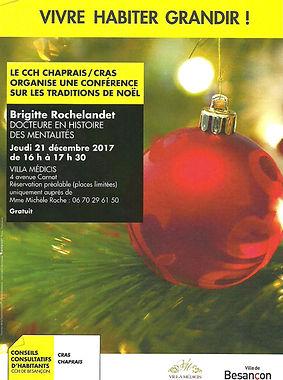 Conférences sur les traditions de Noël
