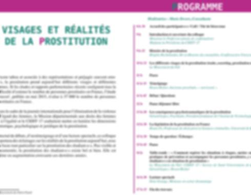 Visage et réalité de la prostitution