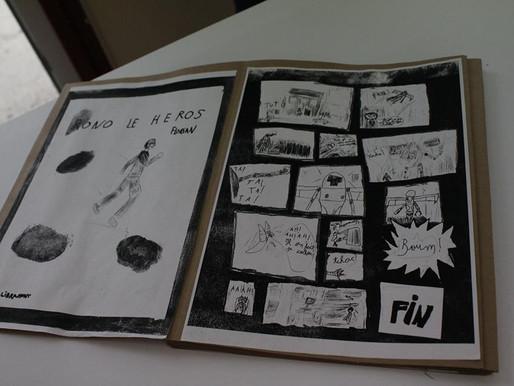Stage bande dessinée animé par Aurélie Malbec
