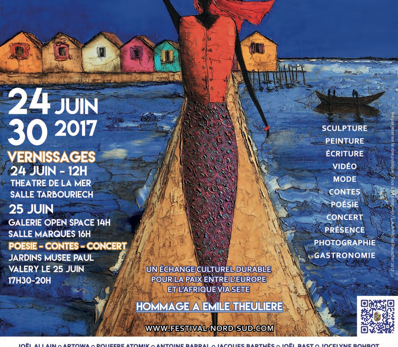 AFFICHE Festival Nord Sud 2017