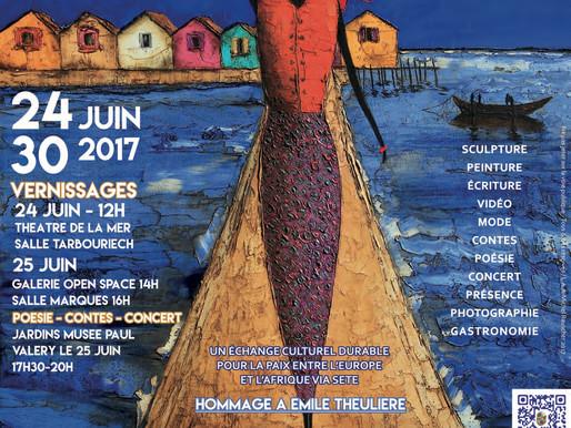 Festival Nord-Sud, convergence des arts - Focus sur les relations Euro-Africaines pour la Paix à Sèt