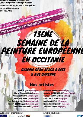 13ème semaine de la peinture européenne en Occitanie