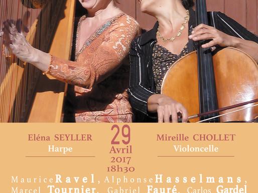 Le duo Cellarpe nous convie à la galerie Open Space ! Au menu, musique argentine et autres morceaux