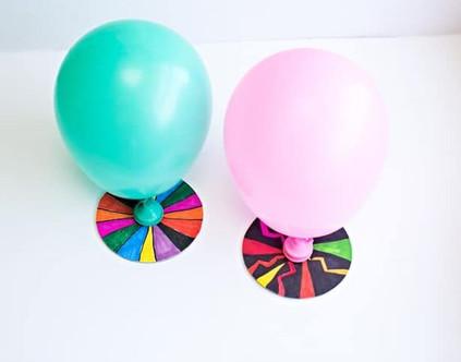 Ballon Hovercraft