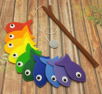 DIY Fishing rod and game