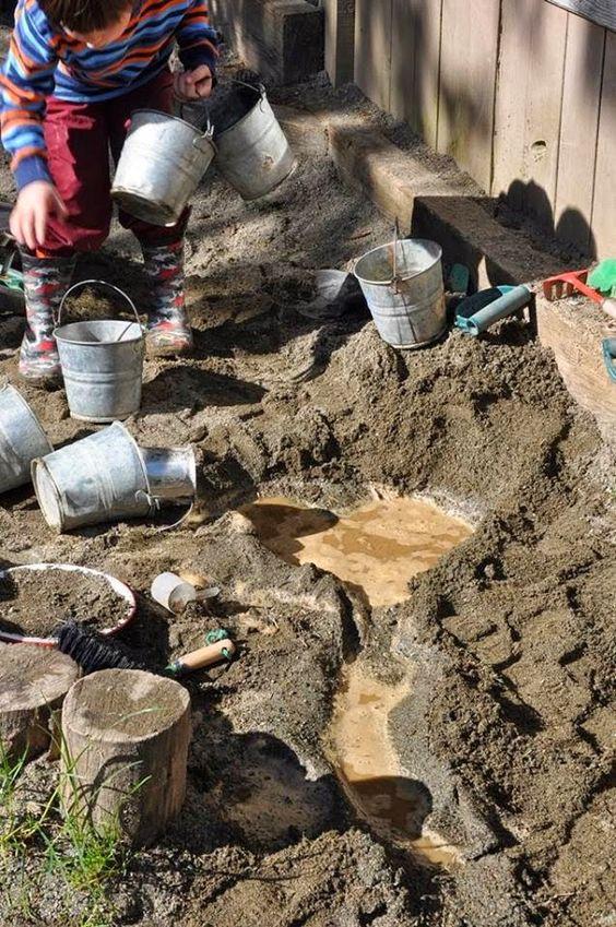 mud play