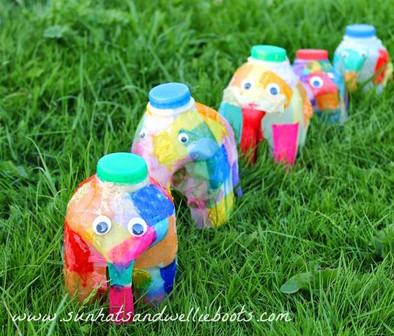 milk cartoon elephant