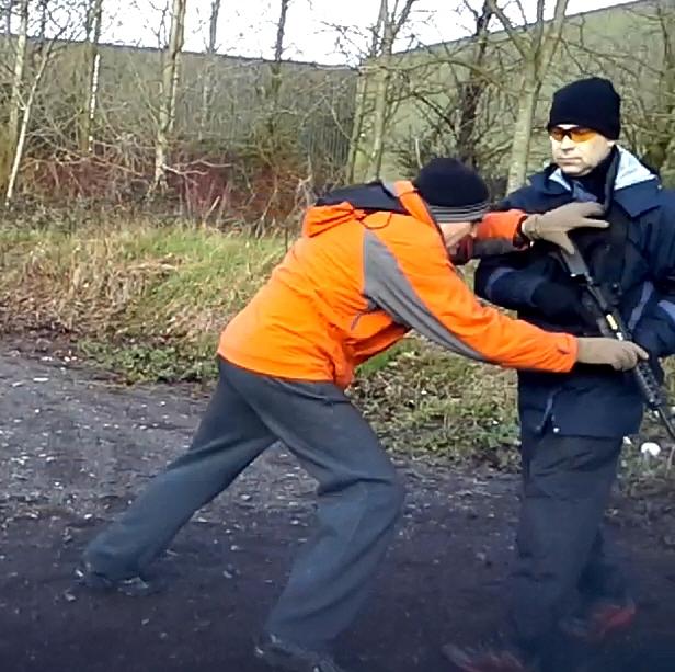Close Protection Course, Feb 2014 07