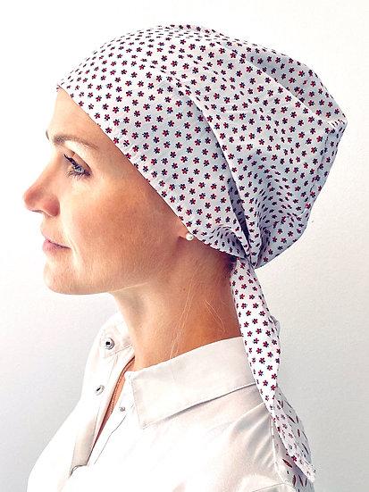 Calot de bloc chirurgical cheveux longs tissu Italien