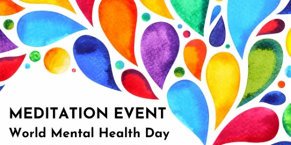 Online Event: World Mental Health Day Special Event
