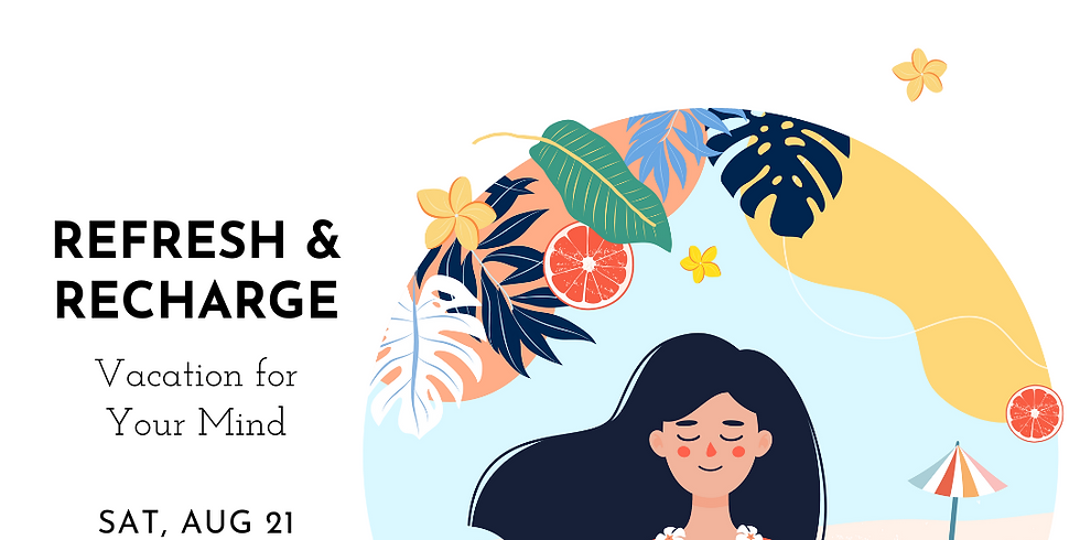 Online Event: Refresh & Recharge