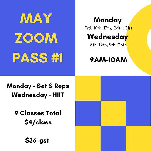 May ZOOM Pass #1