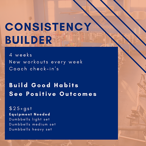 Consistency Builder with Mandy