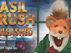 BASIL BRUSH: UNLEASHED written by MALCOLM MCKEE goes down a storm at the Edinburgh Fringe