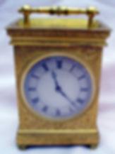Gilt Carriage Clock 001.JPG