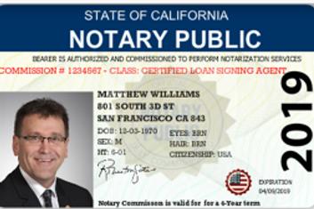 Notary Public Identification Badge | Notary ID