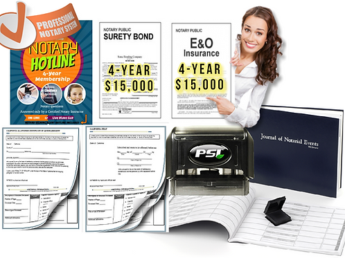 Professional Notary Package | Premium