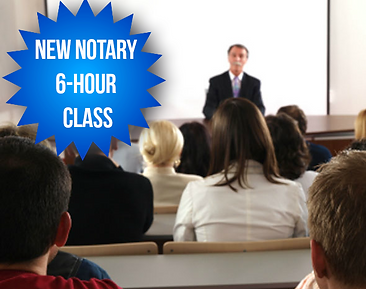 six hour notary class