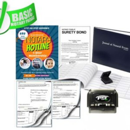 Basic Notary Package | Basic Notary Supplies