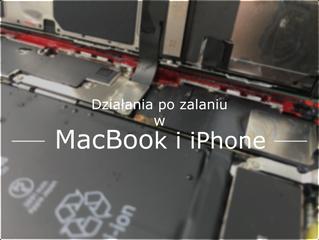 iPhone i Mac po zalaniu. Jak zwiększyć szanse na uratowanie sprzętu.