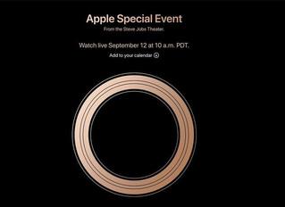 Konferencja Apple 12/09/2018 Gather Round.