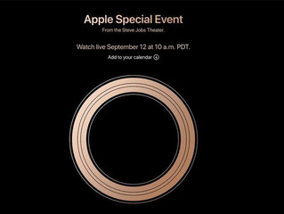 Konferencja Apple 12/09/2018 Gather Round.