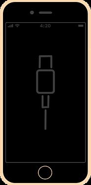 iphone 7 wymiana złącza ładowania zlacze nie laduje ładuje naprawa serwis apple fixme lodz łódź