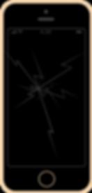 iphone SE zbita szybka ekran wyświetlacz wymiana naprawa apple fixme lodz