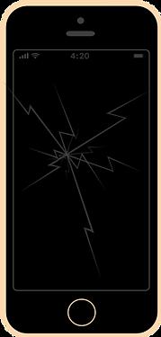 iphone se wymiana szybki serwis naprawa apple fixme lodz łódź