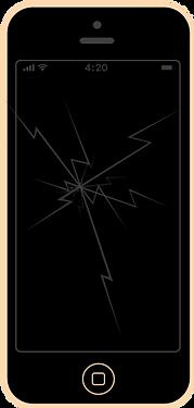 iphone 5 wymiana szybki serwis naprawa apple fixme lodz łódź