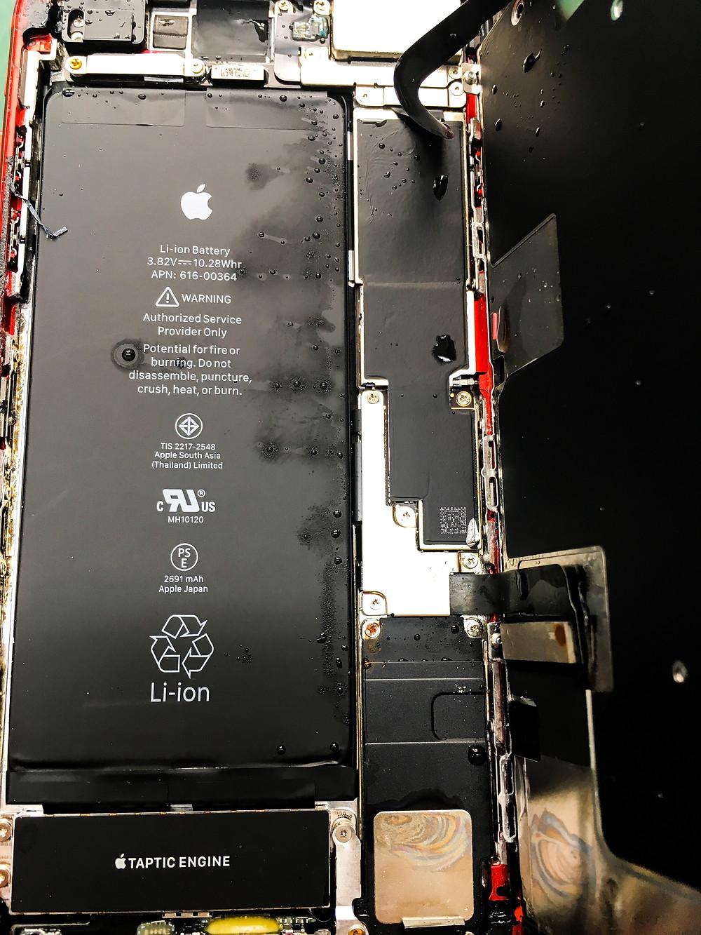 iPhone zalanie FixMe serwis Apple Łódź