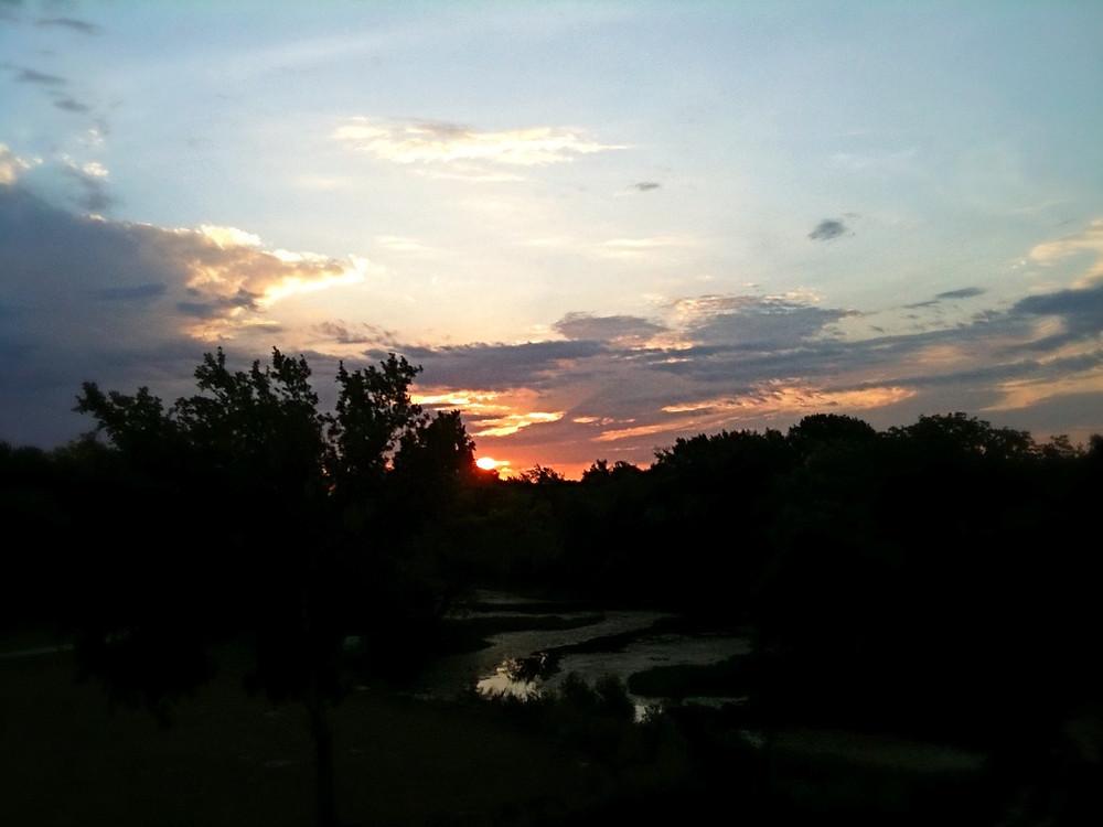 sunrise over Prosper