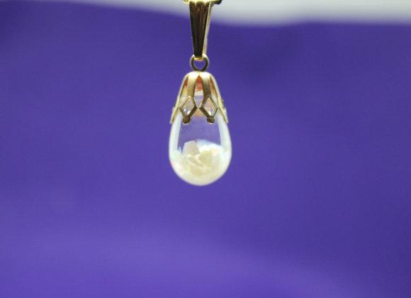 Opal Chip Pendant