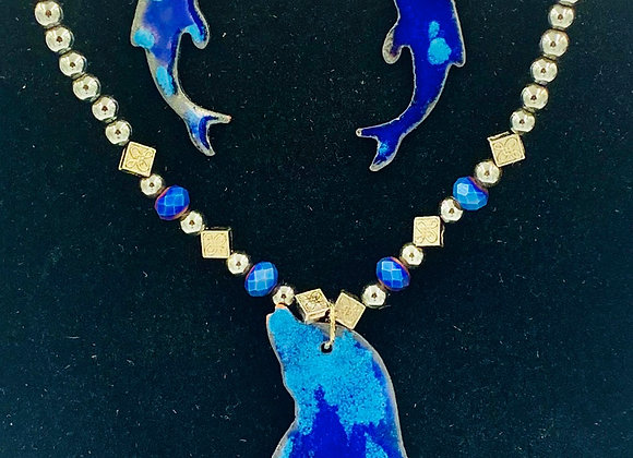 Frolicking in the Waves - Pendant